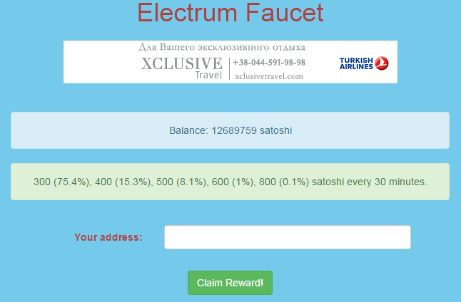 electrum-faucet
