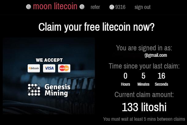 moon litecoin вход