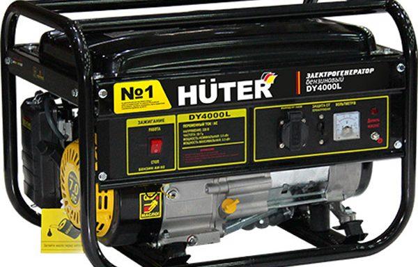 Генератор бензиновый Huter DY 4000 L
