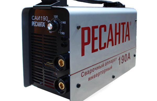 Сварочный инвертор Ресанта 190